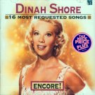 Dinah Shore-16 Most Requested Songs