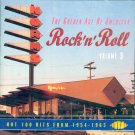 V/A The Golden Age Of American Rock 'n' Roll, Volume 3-Hot 100 Hits From 1954-1963 (Import)
