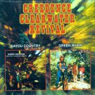 """Creedence Clearwater Revival-""""Bayou Country""""/""""Green River"""" (Import)"""
