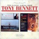 """Tony Bennett-2 Albums """"I Left My Heart In San Francisco""""/""""I Wanna Be Around"""" (Import)"""