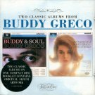 """Buddy Greco-2 Classic Albums On 1 CD:  """"Buddy And Soul""""/""""Soft And Gentle"""" (Import)"""