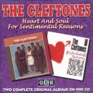 "The Cleftones-2 Albums On 1 CD:  ""Heart And Soul""/""For Sentimental Reasons"" (Import)"