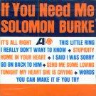 Solomon Burke-If You Need Me (Import)