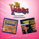 "The Ventures-2 LP's On 1 CD:  ""Super Psychedelics""/""$1,000,000 Weekend"""