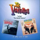 "The Ventures-2 LP's On 1 CD:  ""Surfing"" / ""The Colorful Ventures"""
