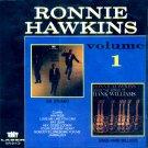 """Ronnie Hawkins-Volume 1-2 LP's On 1 CD:  """"Mr. Dynamo""""/""""Sings The Songs Of Hank Williams"""" (Import)"""