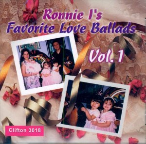"""V/A Ronnie I's Favorite Love Ballads, Volum 1 """"20 Fabulous 1959's/Early 60's Vocal Harmony Gems"""""""