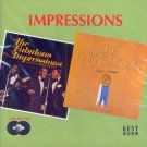 "The Impressions-2 LP's On 1 CD:  ""The Fabulous Impressions""/""We're A Winner"" (Import)"