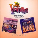 "The Ventures-2 LP's On 1 CD:  ""Flights Of Fantasy""/""Underground Fire"""