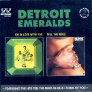 """Detroit Emeralds-2 Albums On 1 CD:  """"I'm In Love With You""""/""""Feel The Need"""" (Import)"""