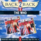 "The Who-Back 2 Back:  ""Rarities 1966-1972, Vol. I & Rarities 1966-1972, Vol. II"" (Import)"
