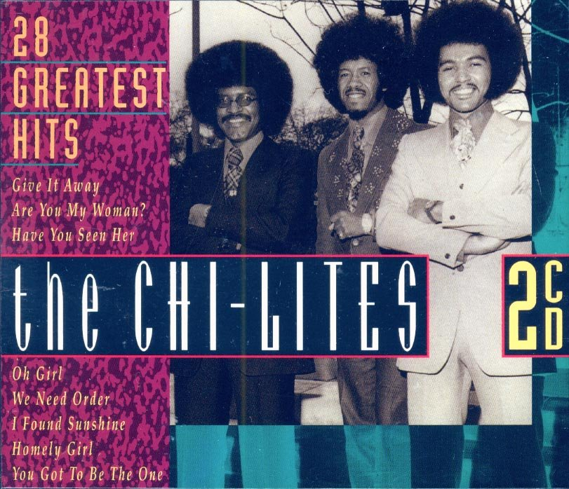 The Chi-Lites-28 Greatest Hits (2 CD Box Set) (Import)