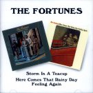"The Fortunes-2 LPs On 1 CD:  ""Storm In A Teacup""/ ""Here Comes That Rainy Day Feeling Again"" (Import)"