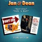 "Jan & Dean-2 LP's On 1 CD:  ""Surf City"" / ""Folk 'n' Roll"""