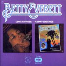 "Betty Everett-2 LP's On 1 CD:  ""Love Rhymes"" / ""Happy Endings"" (Import)"