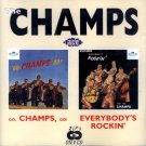 """The Champs-2 LP's On 1 CD:  """"Go, Champs, Go"""" / """"Everybody's Rockin'"""" (Import)"""