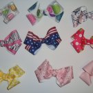 Lots of 9 Custom Boutique Girl/Toddler Hair Bow