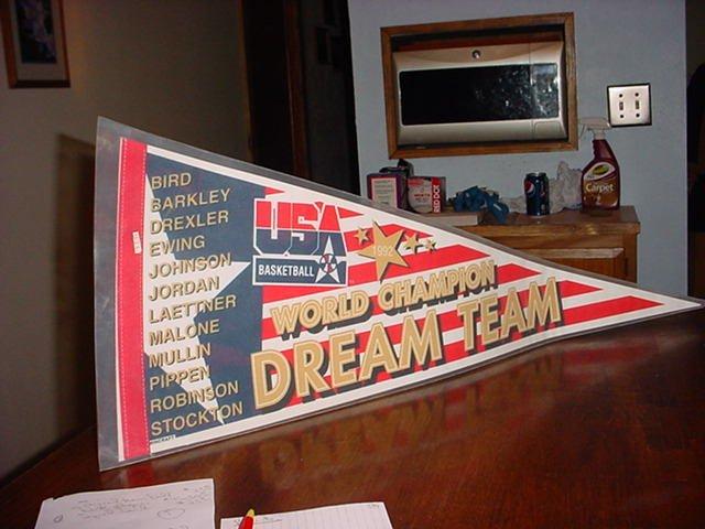 World Championship Dream Team Pennent
