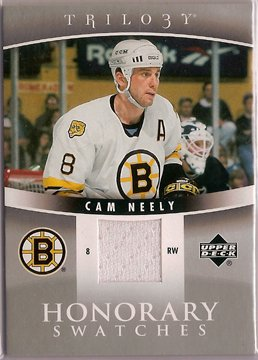 Cam Neely 2006-07 Upper Deck Trilogy Honorary Swatches #HSCN JSY