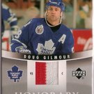 Doug Gilmour 2006-07 Upper Deck Trilogy Honorary Swatches #HSDG JSY