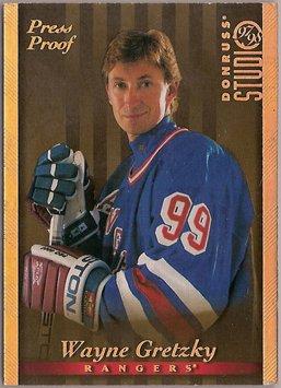 Wayne Gretzky 1997-98 Donruss Studio Press Proofs Gold #1 /250 SN