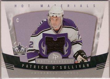 Patrick O'Sullivan 2006-07 Hot Prospects Hot Materials #HMOS JSY