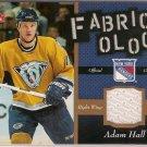 Adam Hall 2006-07 Fleer Fabricology #FAH JSY Predators
