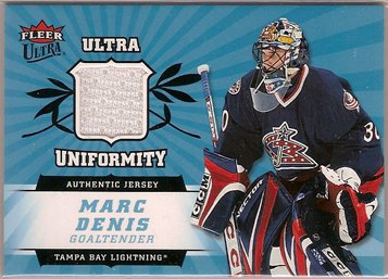 Marc Denis 2006-07 Ultra Uniformity #UMD JSY