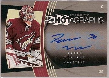 David Leneveu 2006-07 Hot Prospects Hotagraphs #HDL
