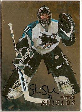 Steve Shields 1998-99 Be A Player Autographs Gold #269 AUTO