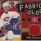 Mike Komisarek 2006-07 Fleer Fabricology #FKO JSY