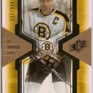 Ray Bourque 2006-07 SPx SPxcitement #X6 217/999 SN