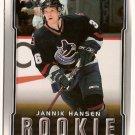 Jannik Hansen 2007-08 Upper Deck Victory #245 RC