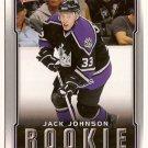 Jack Johnson 2007-08 Upper Deck Victory #201 RC