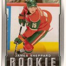 James Sheppard 2007-08 Upper Deck Victory #311 RC