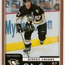 Sidney Crosby 2006-07 O-Pee-Chee Team Checklist #694