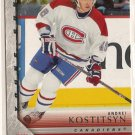 Andrei Kostitsyn 2005-06 Upper Deck Series 2 #482 RC