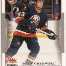 Ryan Caldwell 2006-07 Fleer #229 RC