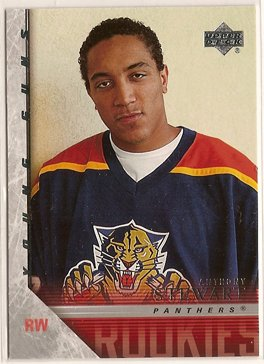 Anthony Stewart 2005-06 Upper Deck Series 2 Young Guns #453 RC