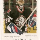 Ryan Miller 2002-03 UD Artistic Impressions Rookie Images #126 RC