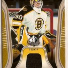 Tim Thomas 2006-07 SP Game Used Authentic Fabrics Parallel #AFTT 33/100 SN