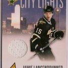 Jamie Langenbrunner 2010-11 Pinnacle City Lights Materials #60 24/399 SN