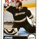 Jonas Hiller 2010-11 Score Glossy #49