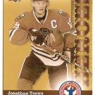 Jonathan Toews 2009-10 Upper Deck National Hockey Card Day #HCD12