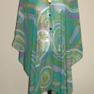 Gypsy Scarf Caftan Wing Casual Beachcover or Poncho Top