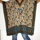 Gypsy Scarf Caftan Wing Casual Poncho Top or Dress