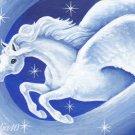 Star Dust ACEO Pegasus Satin Giclee Print by Tj Sahadja10