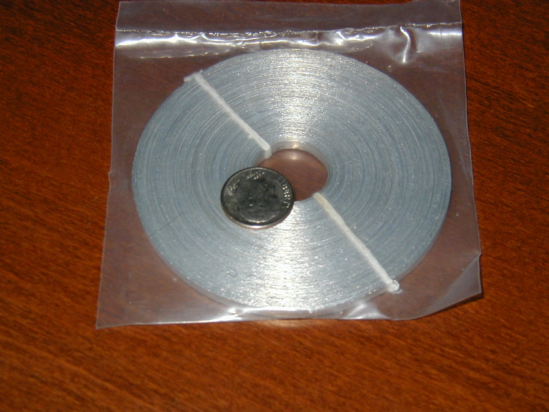 Magnesium Ribbon, 25g, 65-75ft long, 99.8% Pure, Free Shipping
