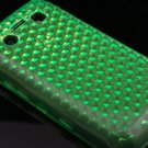 Crystal Gel Diamond Design Skin Case for Blackberry Bold 9700/9780 - Neon Green