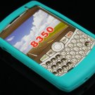 Soft Silicone Skin Cover Case for Blackberry Curve 8350 - Turquoise
